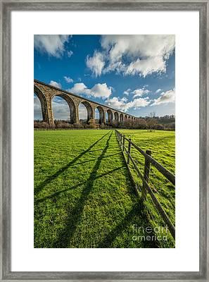 Cefn Viaduct Chirk Framed Print by Adrian Evans