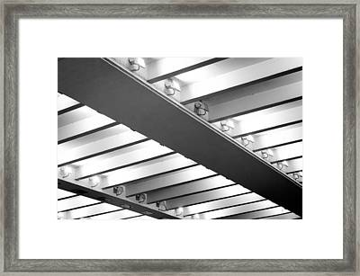 Ceiling Lights Framed Print by Tom Gowanlock