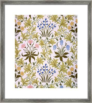 Celandine Wallpaper Design Framed Print
