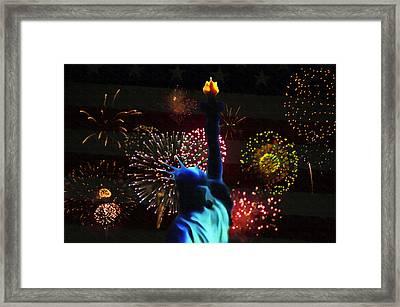 Celebrate America Framed Print by Bill Cannon