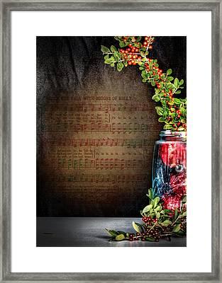 Celebrate Christmas Framed Print by David and Carol Kelly