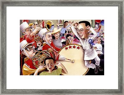 Celebrate Framed Print by Denny Bond