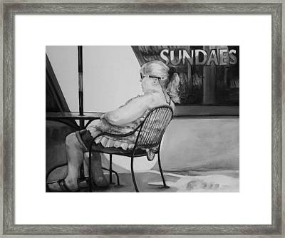 Celebrate Framed Print by Jean Cormier