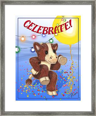 Celebrate Framed Print by Jerry Ruffin