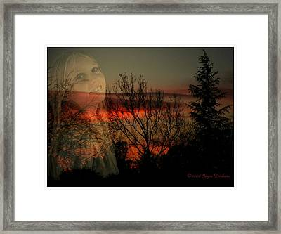 Framed Print featuring the photograph Celebrate Life by Joyce Dickens