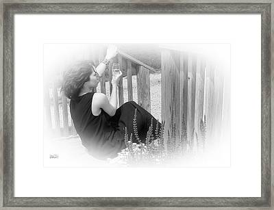 Celebrate Life Regardless Framed Print by Tina M Wenger