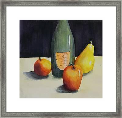 Celebrate Framed Print by Maria Hunt