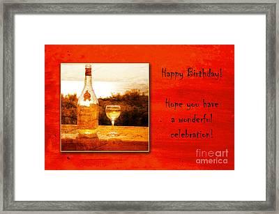 Celebrate Framed Print by Randi Grace Nilsberg