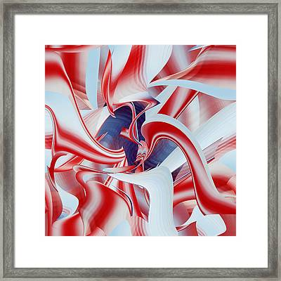 Framed Print featuring the digital art Celebrate by rd Erickson