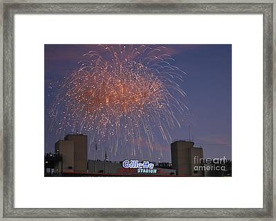 Celebrate Framed Print by Terri Oberg