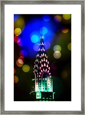 Celebrate The Night Framed Print by Az Jackson