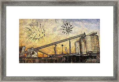 Celebrate With Me Framed Print