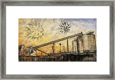 Celebrate With Me Framed Print by Davina Washington