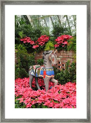 Celebrating Christmas Framed Print