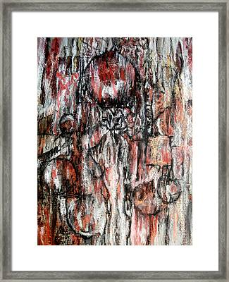 Celebrating The Marriage Of Order And Chaos Framed Print by Buck Buchheister