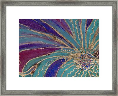Celebration IIi Framed Print by Anne-Elizabeth Whiteway