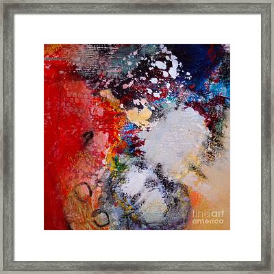 Celebration In The Air Framed Print by Lisa Schafer