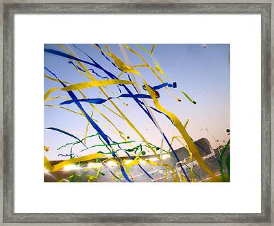 Celebration Framed Print by JBDSGND OsoPorto