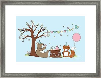 Celebration Framed Print by Kathrin Legg