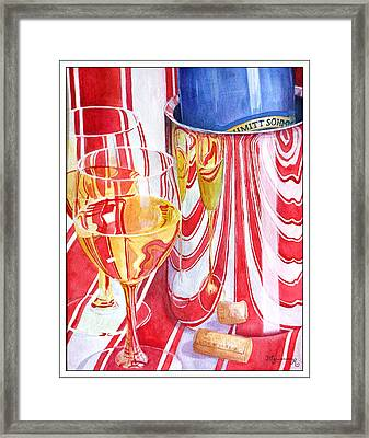 Celebration Framed Print by Mariarosa Rockefeller