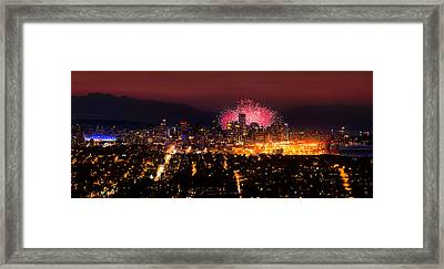 Celebration Of Light 2014 - Day 3 - Japan Framed Print by Alexis Birkill