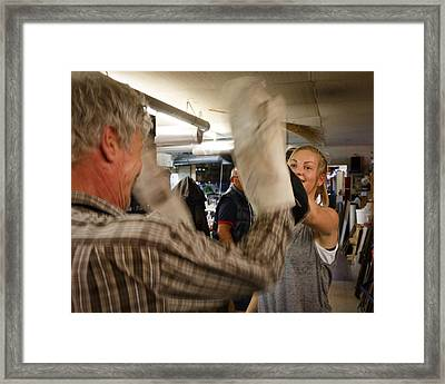 Framed Print featuring the photograph Celebration by Paul Indigo