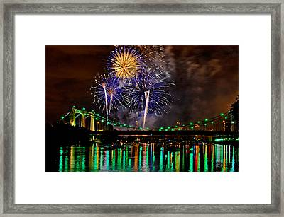Framed Print featuring the photograph Celebration Time by RC Pics