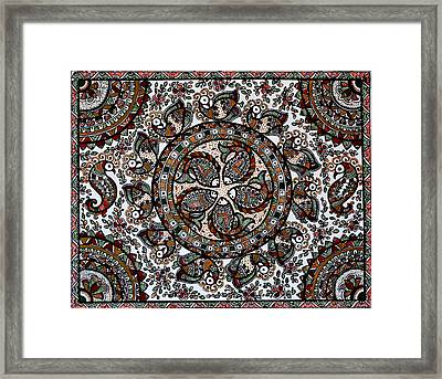 Celebrations Framed Print by Deepti Mittal