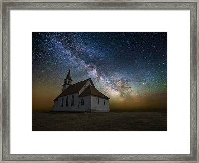 Framed Print featuring the photograph Celestial by Aaron J Groen