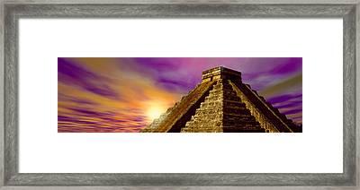 Celestial Apex Framed Print