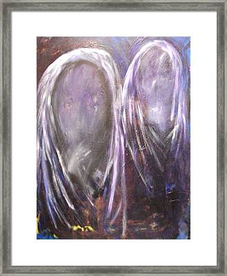 Celestial Blessings Framed Print by Randall Ciotti