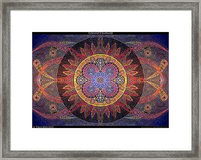 Celestial Clockwork Framed Print by Travis Hunt