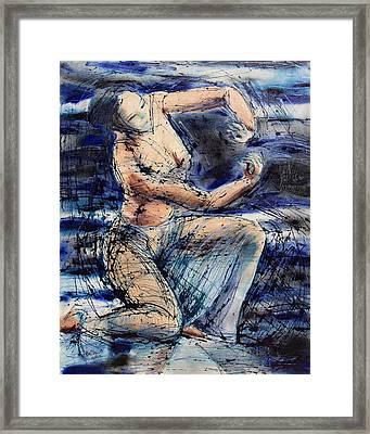 Celestial Dancer Framed Print by Brenda Clews