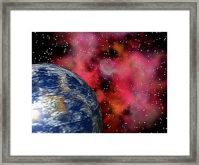 Celestial Dragon Framed Print