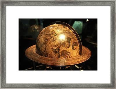 Celestial Globe Framed Print by Detlev Van Ravenswaay