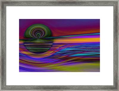 Celestial Horizon 2 Framed Print by Tom Druin