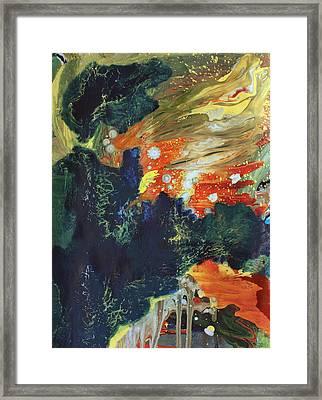 Celestial Landscape Framed Print