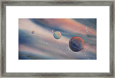 Celestial Light  Framed Print