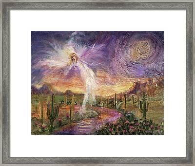 Celestial Messenger Framed Print
