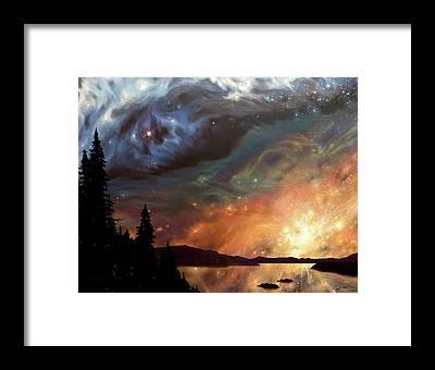 Mountian Framed Prints