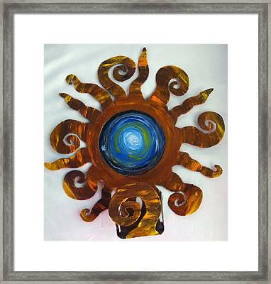 Celestial Orbs 6 Framed Print