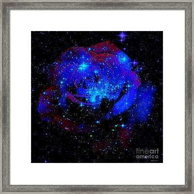 Celestial Rose Framed Print by Elizabeth McTaggart