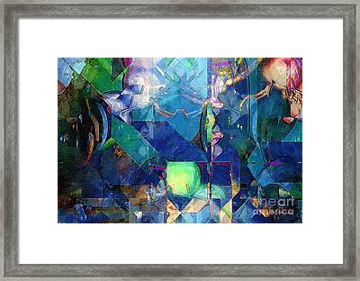 Celestial Sea Framed Print by RC deWinter