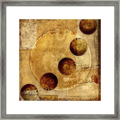 Celestial Spheres Framed Print by Carol Leigh