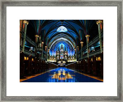 Celestial Symmetry Framed Print