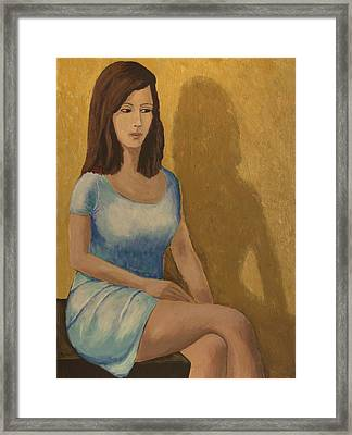 Celina Framed Print