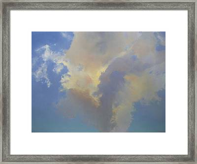 Framed Print featuring the painting Celina Evening by Cap Pannell