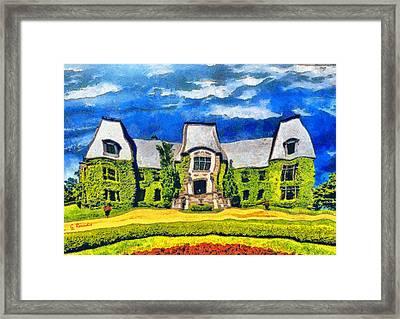 Celine Dion House Framed Print
