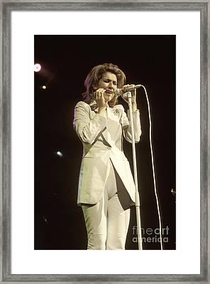 Celine Dion Framed Print