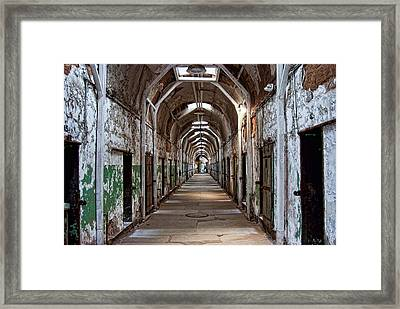 Cell Block One Framed Print by Michael Dorn